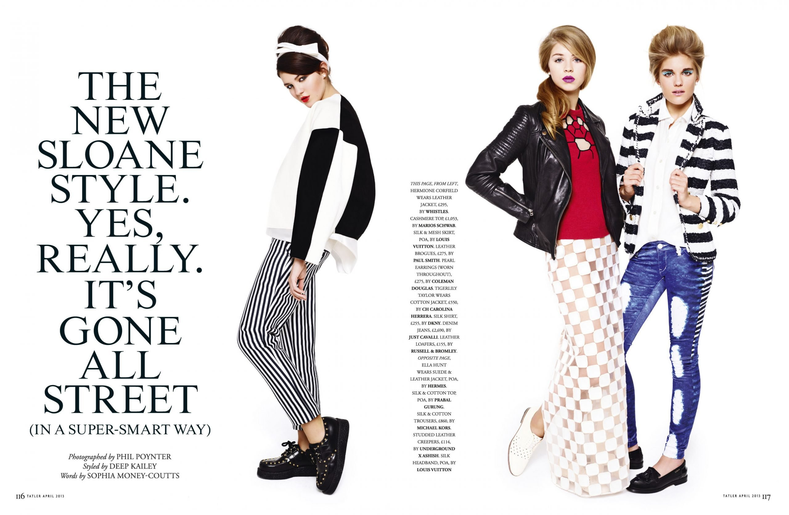 Oneafternoon, Art Direction & Print, fashion layout