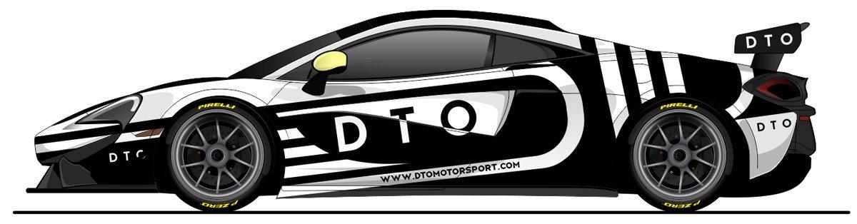 DTO Mclaren livery design