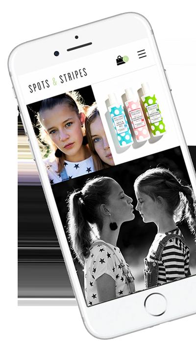Spots & Stripes iphone2