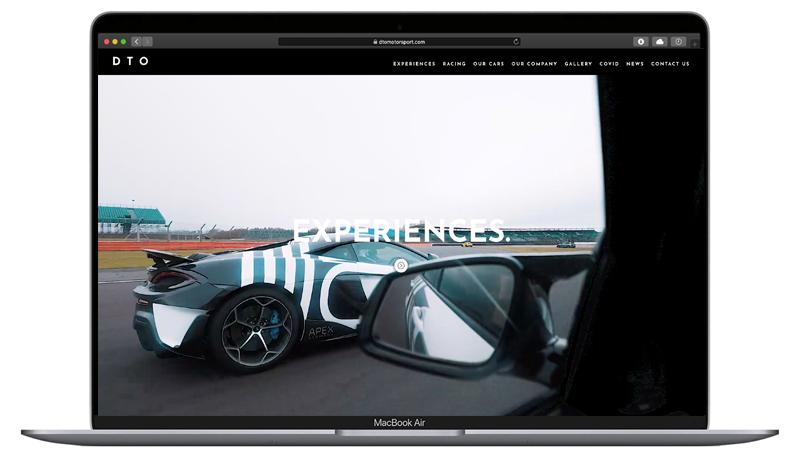 ONEAFTERNOON website DTO design